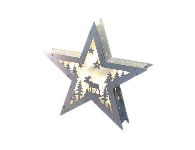 Estrella blanca led