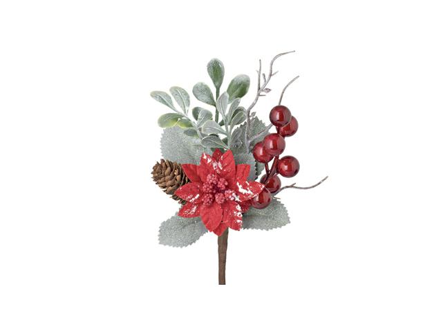 Pick flor de navidad