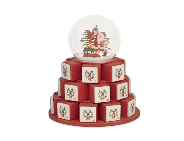 Calendario bola Navidad