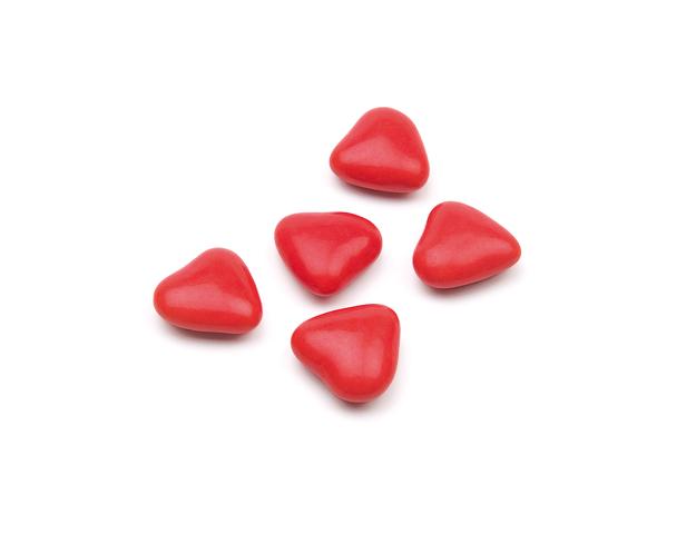 Mini corazón rojo