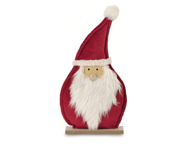 Papá Noel pie de madera