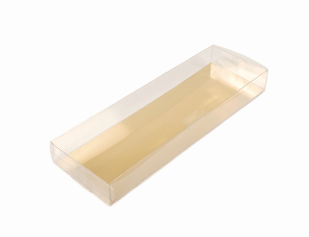 Caja turrón transparente