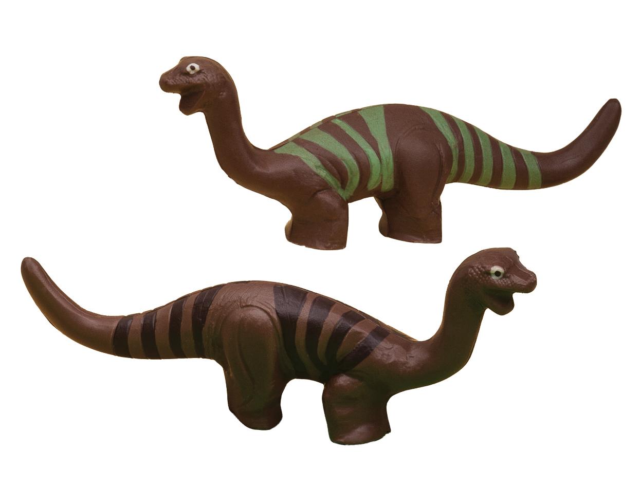 Figura choc Dinosaurio rallas surtidos/ cj 4 ud