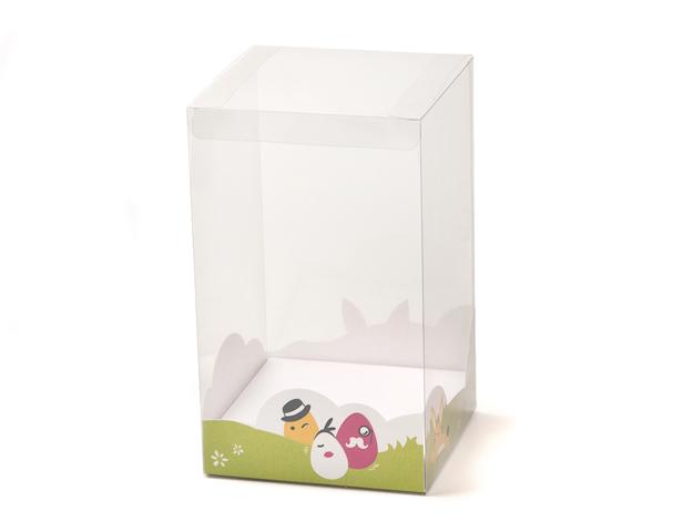 Zócalo Pascua para caja transp. 117x117x25mm/cj.40u