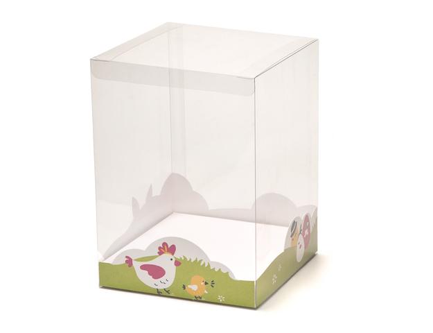 Zócalo Pascua para caja transp. 147x147x25mm/cj.20u