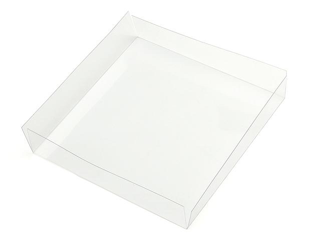 Cuvette carrée transparente
