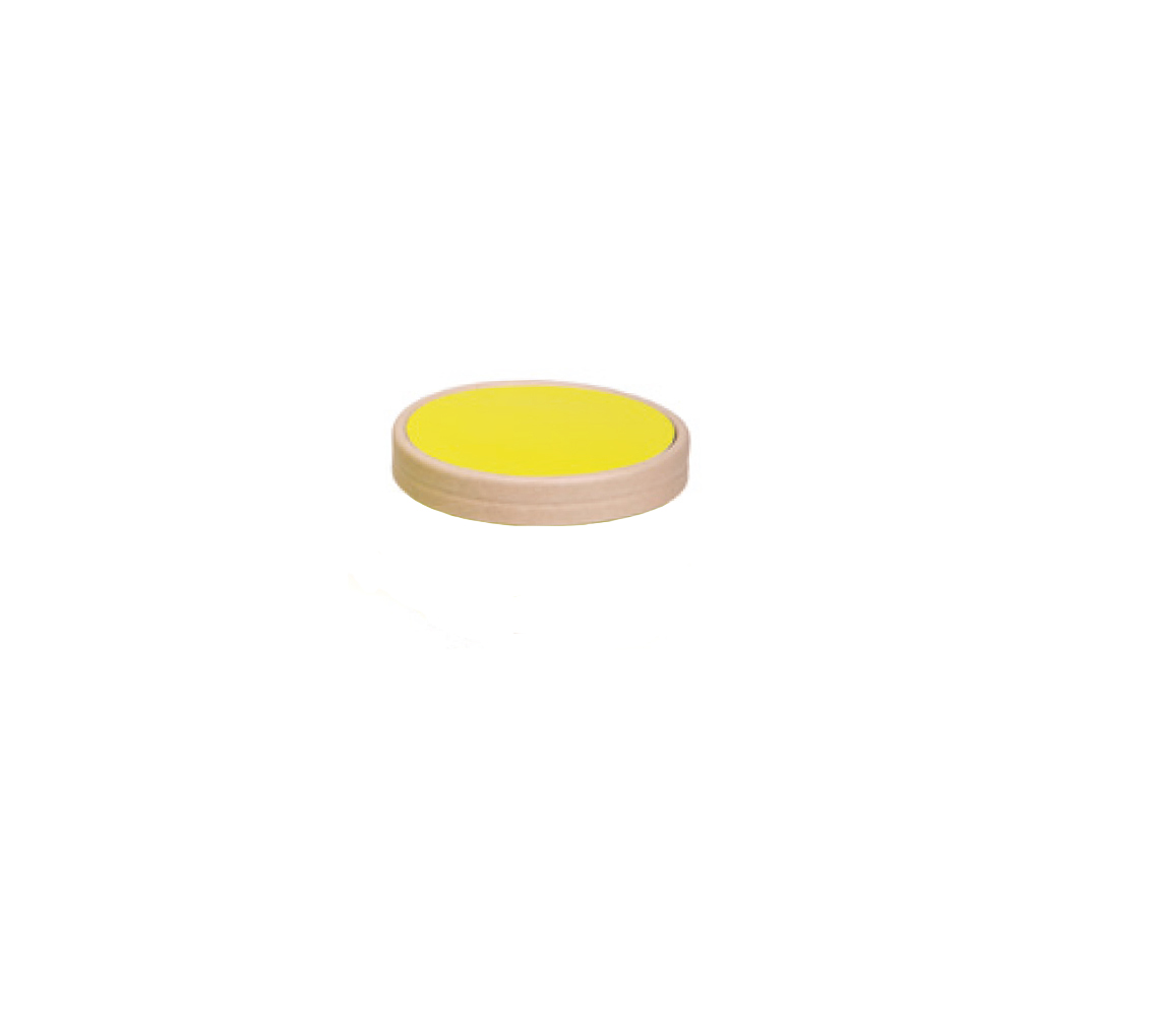 Couvercle pot à glace pistache 150ml/cj 300u