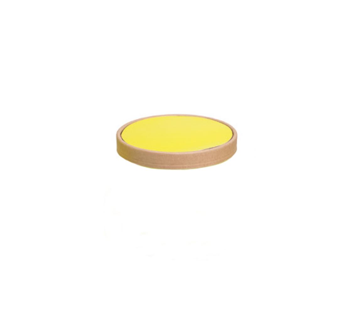 Couvercle pot à glace pistache 400ml/cj 300u