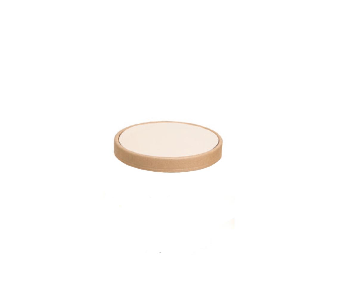 Couvercle pot à glace whitesmoke 400ml/cj 300u