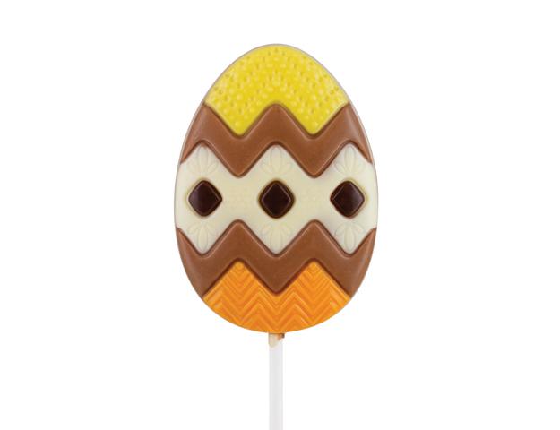 Piruleta huevo Pascua chocolate