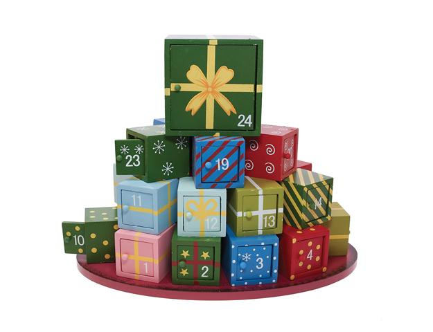 Calendario regalos