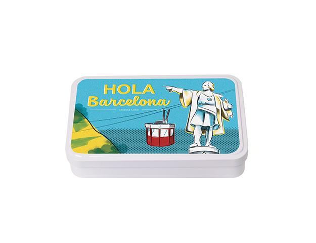 Caja Souvenir Grande BCN Colón/Cj 10 uds