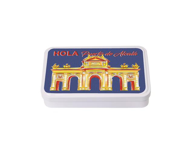Caja Souvenir Grande Madrid Alcalá/Cj 10 uds
