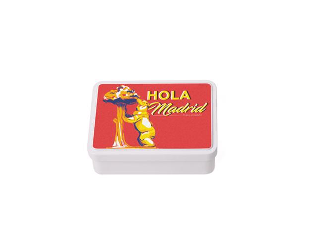 Caja Souvenir Mediana Madrid/Cj 12 uds