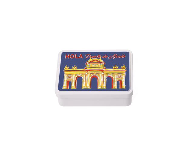 Caja Souvenir Mediana Madrid Alcalá/Cj 12 uds