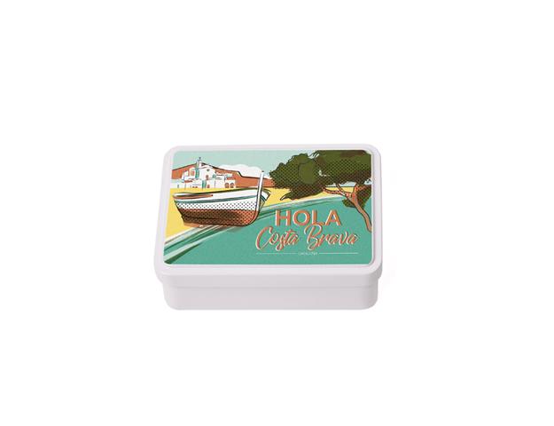 Caja Souvenir Mediana Costa Brava/Cj 12 uds