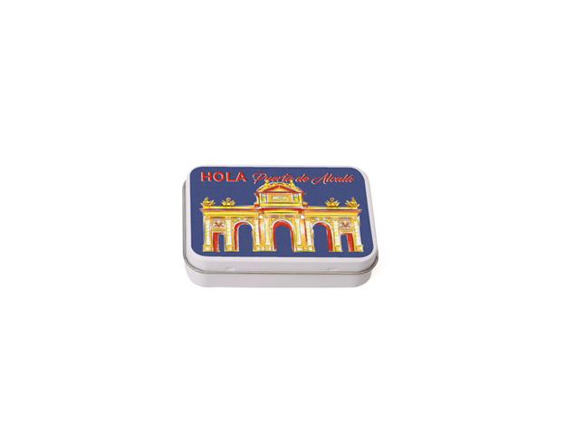 Caja Souvenir Pequeña Madrid Alcalá/Cj 25 uds