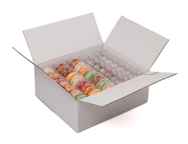 Caja transporte macarons
