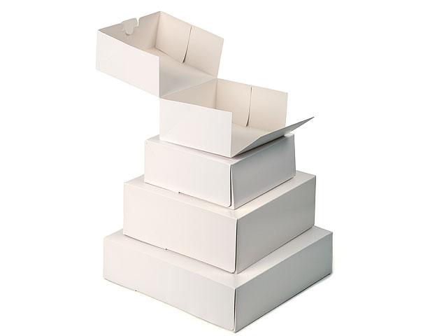 Caja pastel. frontal blanca 32x11cm/cj.100u