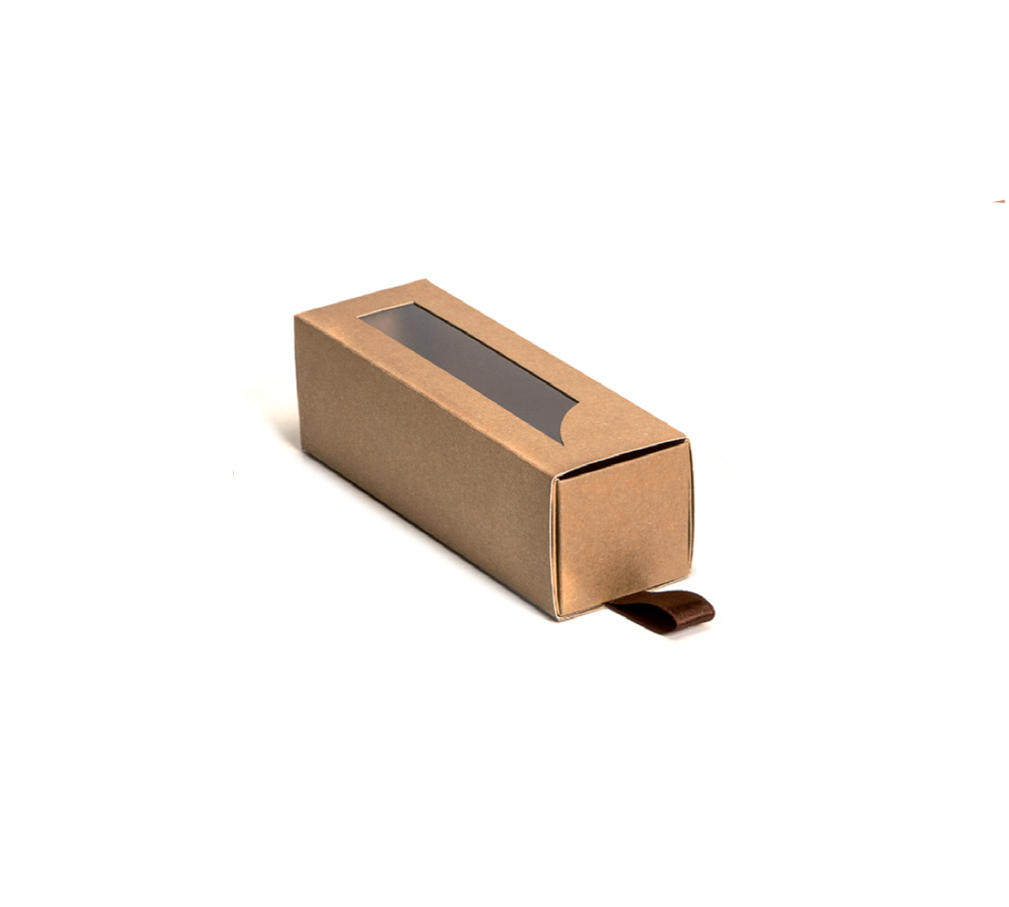 Fourreau bôite gliss 6 macarons 155x45x45/pq. 48u