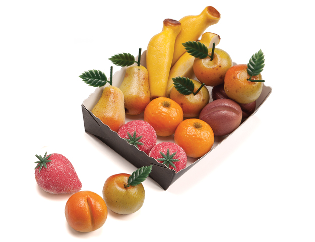 Frutas mazapán