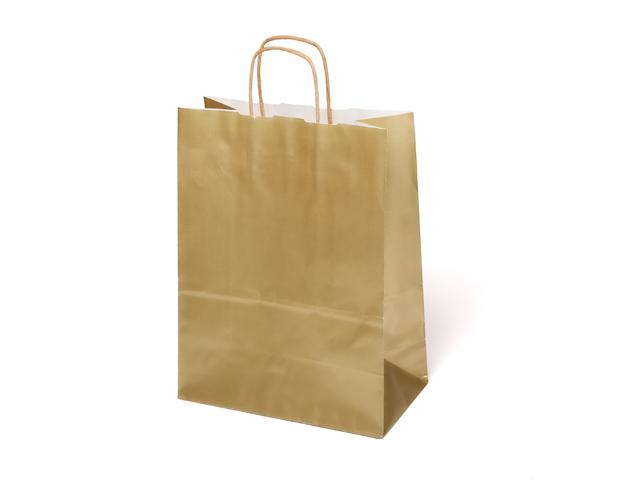 Bolsa papel oro