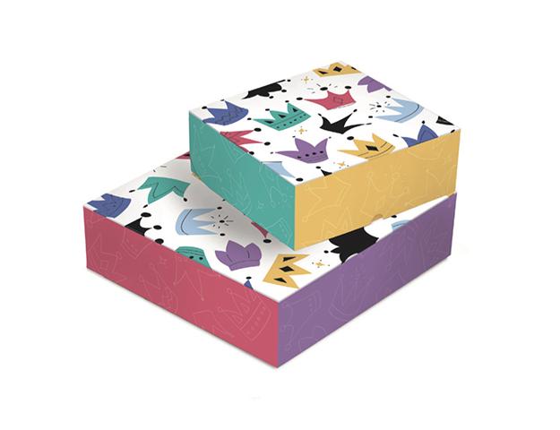 Caja Roscón 390x390x100mm