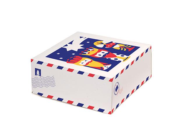 Caja de roscón de Reyes