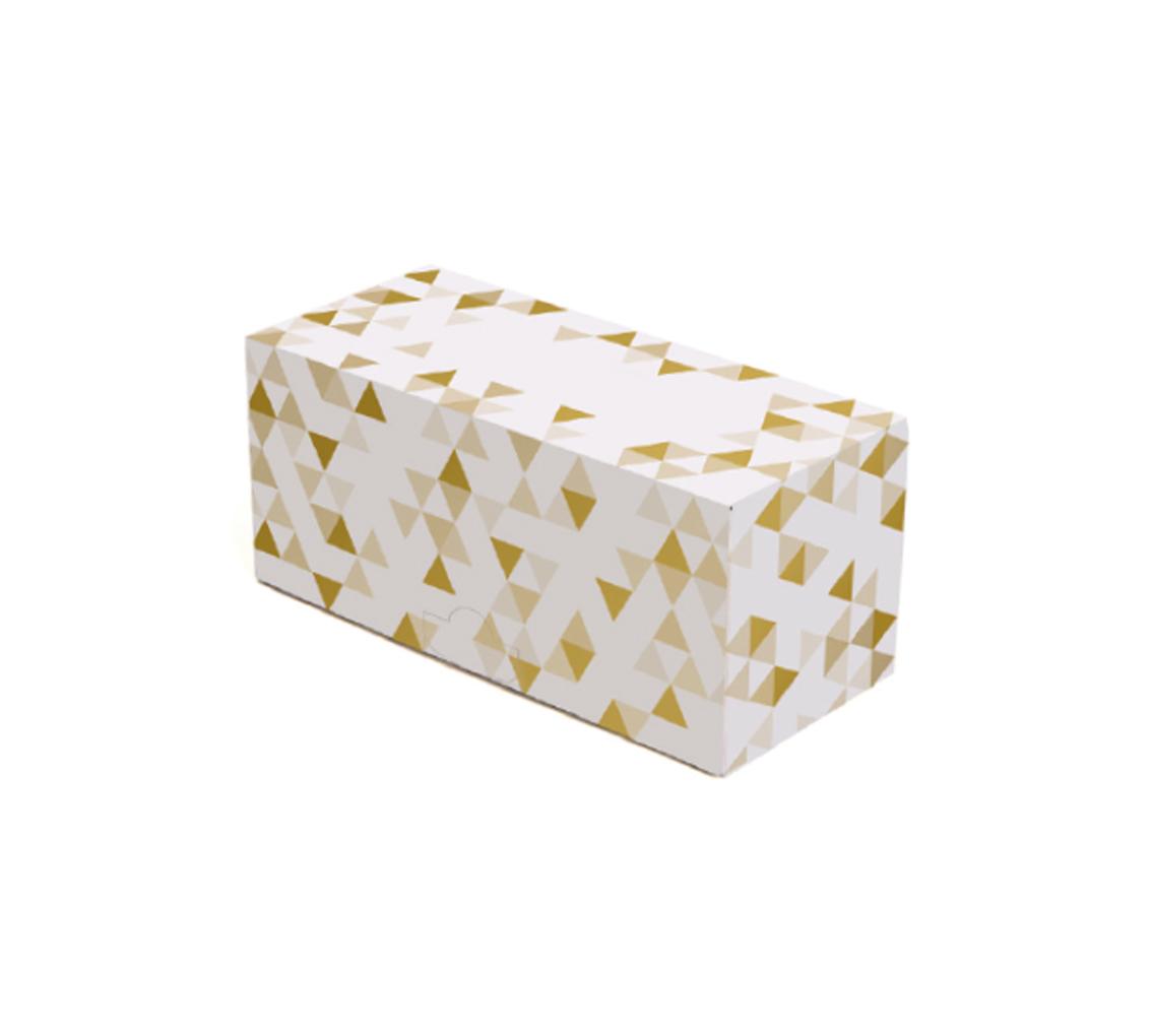 Boîte à bûche Gold