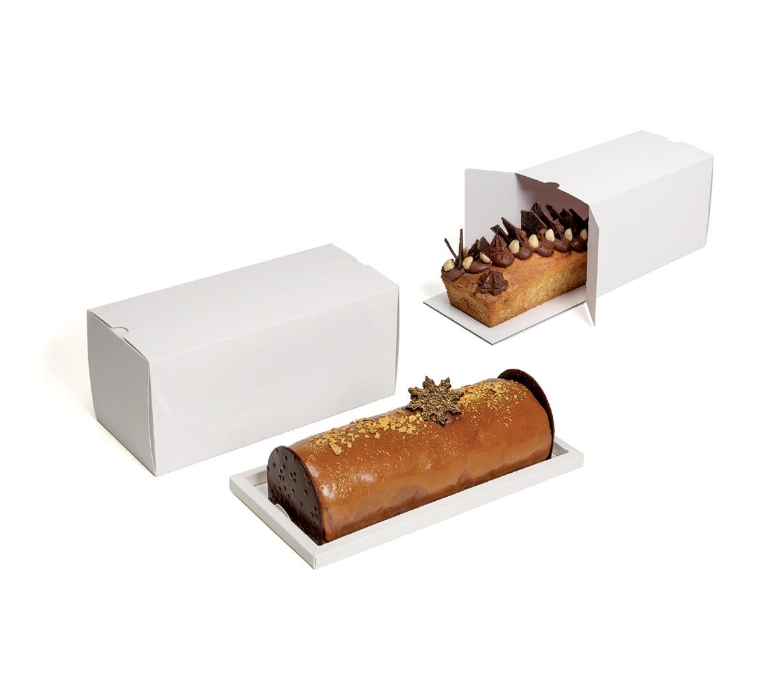 BoIte à gâteau blanche  200x110x110/pq.50u