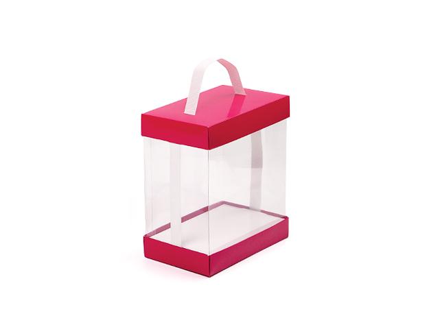 Caja vitrina rectangular