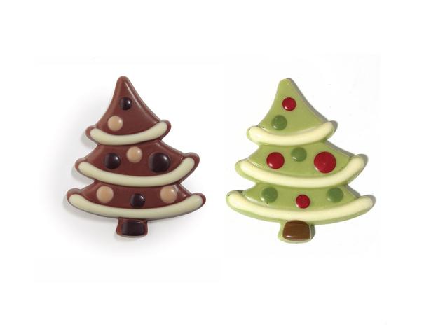Arboles Navidad chocolate L y N / Caja 1,5kg