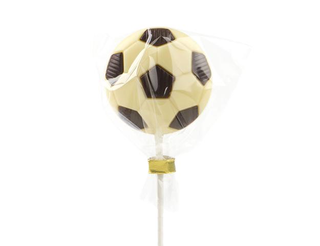 Piruleta pelota fútbol