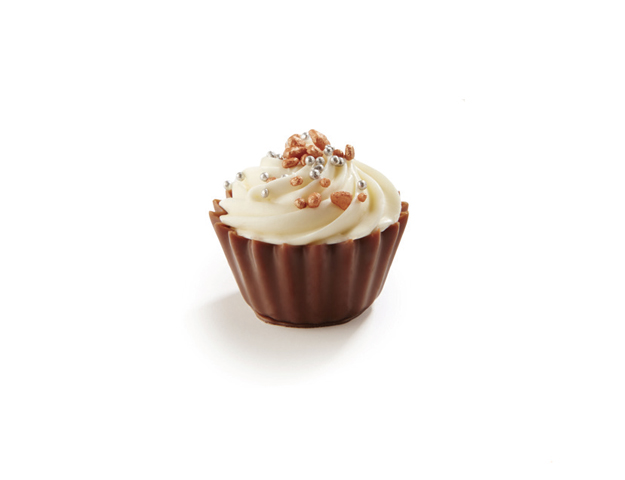 Cupcakes brillante blanco