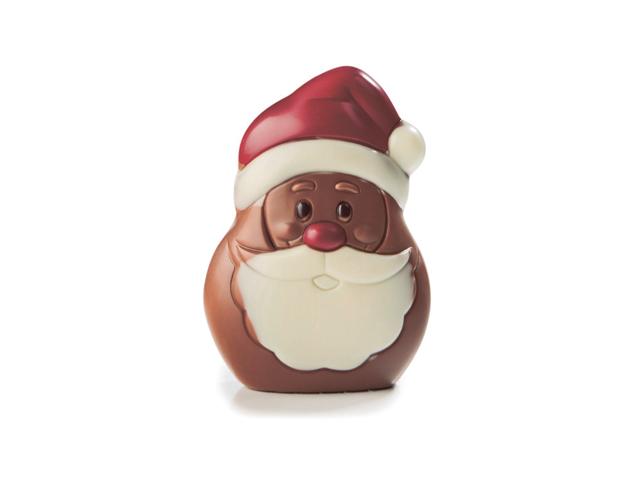Figura chocolate Santa Henry 9 cm