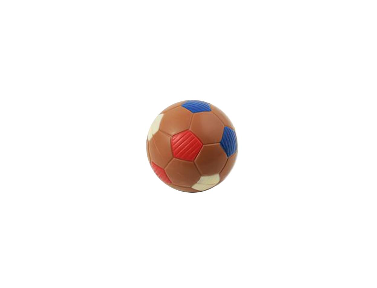 Balon futbol  azul-rojo  7 cm / Caja 12 ud.