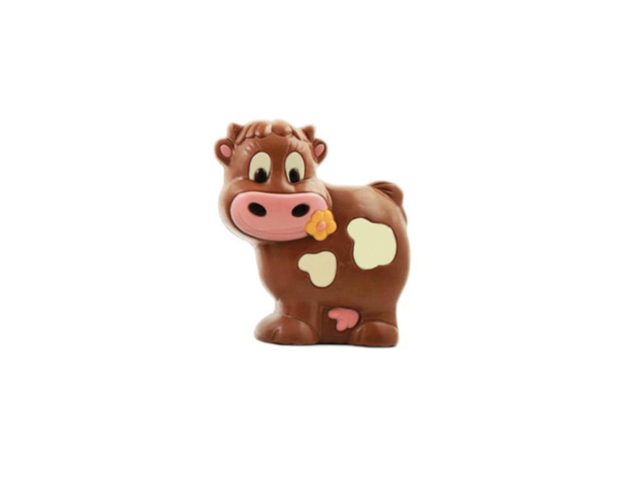Figura choc vaca Lucy 13 cm/ cj 6 ud