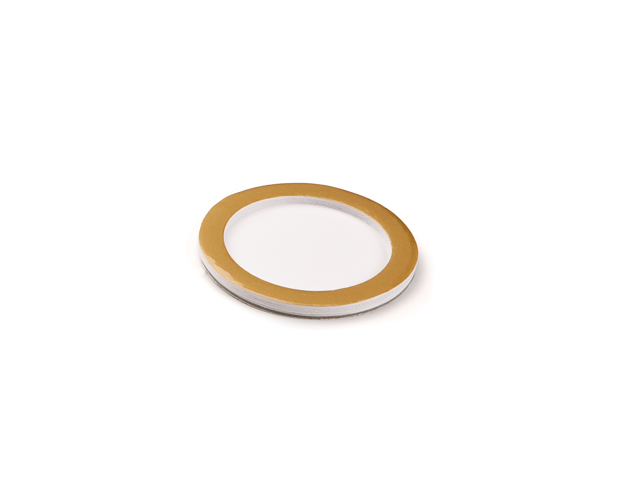 Support plume avec rebord rond
