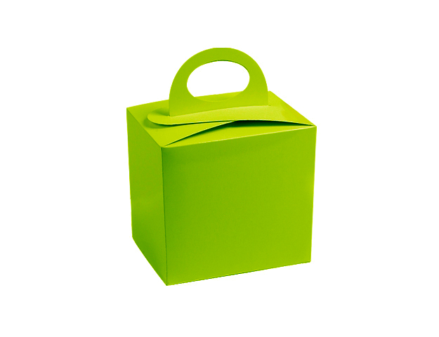 Boîte pâques vert