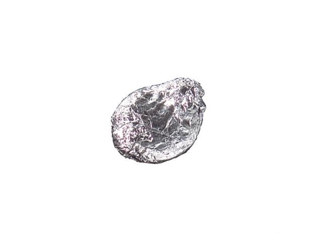 Haba natural envuelta aluminio /100ud