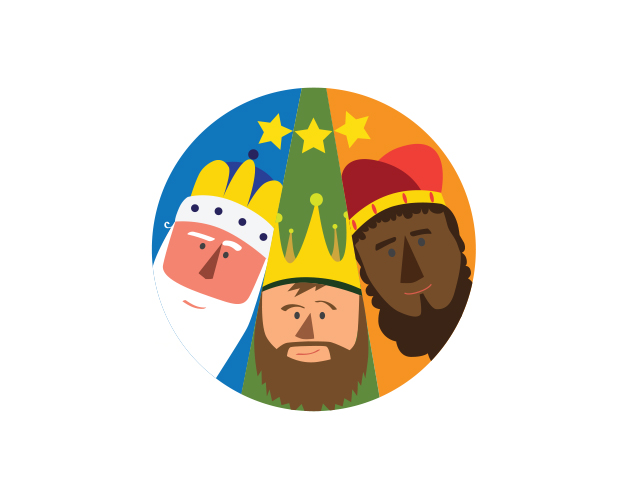 Etiqueta Reyes Magos