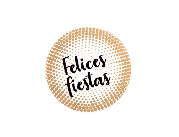 Etiquetas Felices Fiestas