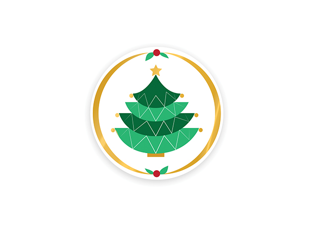 Etiquetas árbol navidad