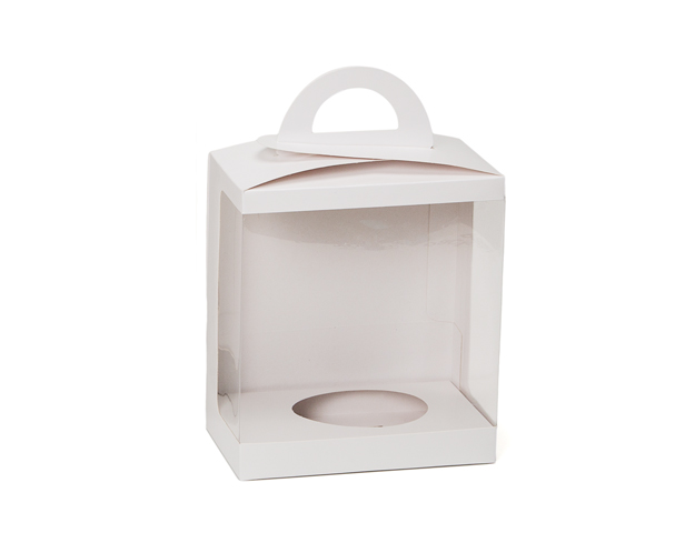 Caja blanca c/ventana apertura trasera /cj.24u