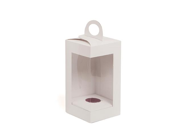 Boîte blanche verticale