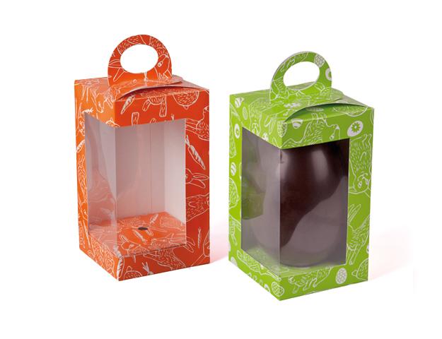 Caja para huevo vertical