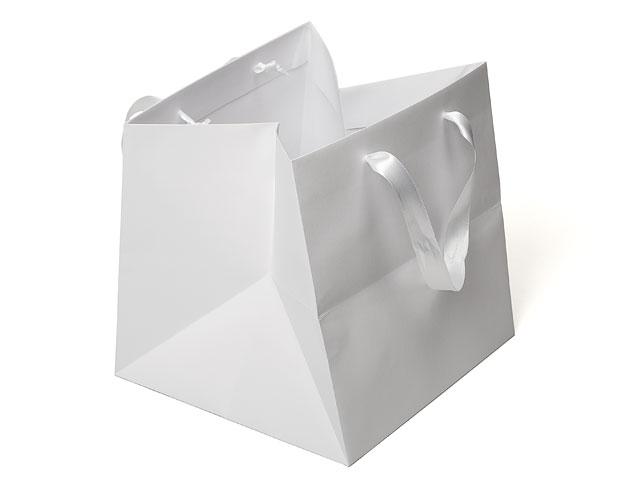 Bolsa luxe blanca