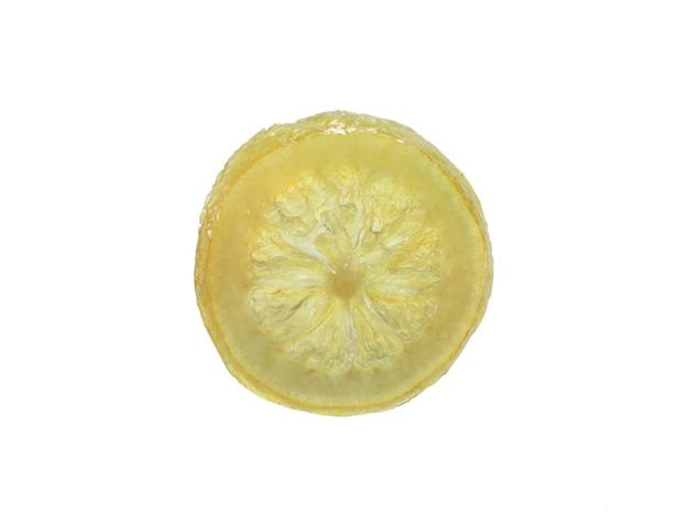 Rodaja limón escurrido