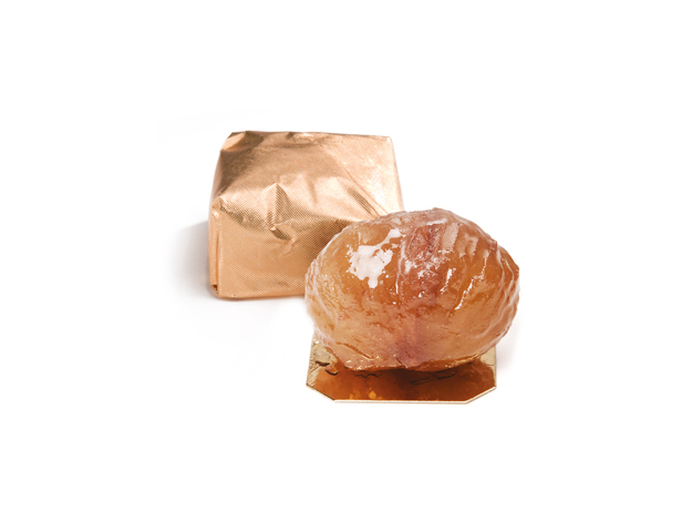Marron glace oro 22 grs/bandeja 1 kg