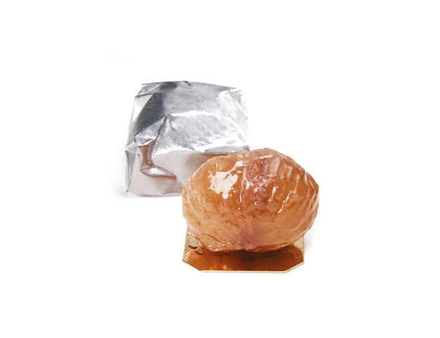 Marron glace plata 22 grs/bandeja 1 kg